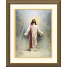 "Eternal Life by Richard Judson Zolan Framed Fine Art Print - 22.12"" x 18.12"""