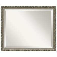 Parisian Medium Mirror in Antique Silver