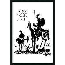 Don Quixote Framed Print Art