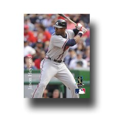 MLB Player Photographic Print on Canvas