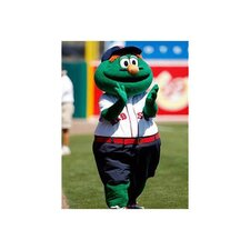 MLB Mascot Photographic Print on Canvas