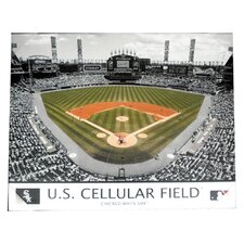 MLB Stadium Photographic Print on Canvas