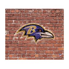 NFL Baltimore Ravens Brick Photographic Print on Canvas