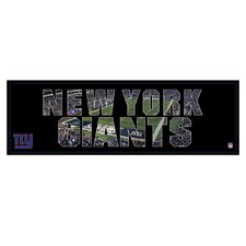 NFL Team Pride Textual Art on Canvas