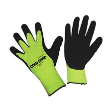 Cold Snap Hi Vis Lime Green Latex Glove - Large