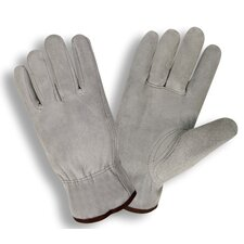 Select Split Cow Driver Glove in Gray