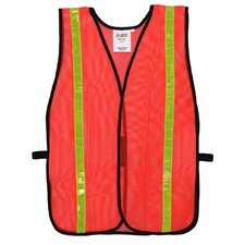 Hi Vis Mesh Safety Vest in Orange