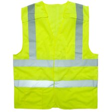 Flame Resistant 5 point Breakaway Class 2 Hi Vis Safety Vest - 2XL