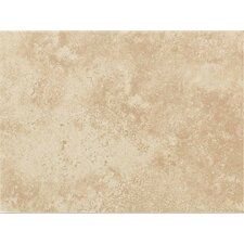 "Ash Creek 9"" x 12"" Glazed Decorative Wall Tile in Almond"