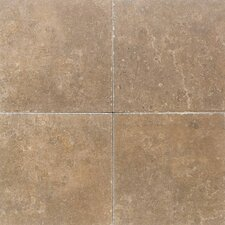 "Carriage House 12"" x 12"" Glazed Field Tile in Buckskin"