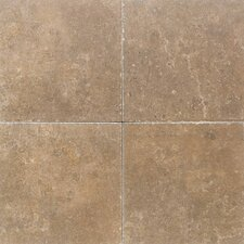"Carriage House 18"" x 18"" Glazed Field Tile in Buckskin"