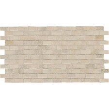 "Costa Rei 2"" x 1"" Brick Joint Mosaic in Sabbia Dorato"