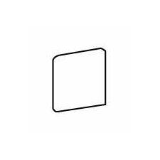 "Costa Rei 6"" x 6"" Surface Bullnose Corner Tile Trim in Sabbia Dorato"