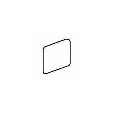 "Costa Rei 2"" x 2"" Surface Bullnose Outcorner Tile Trim in Pietra Bianco"