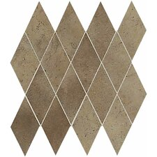 "Costa Rei 6"" x 3"" Harlequin Tile in Terra Marrone"