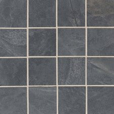 "Siena Springs 13-1/8"" x 13-1/8"" Colorbody Porcelain Mosaic in Riverbed"