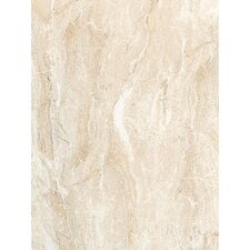 "Torre Venato 12"" x 9"" Glazed Porcelain Field Tile in Crema"