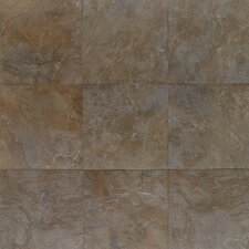 "Amber Valley 3"" x 3"" Glazed Porcelain Floor Tile in Bowling Green"