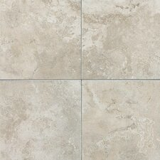 "Pozzalo 6"" x 6"" Glazed Field Tile in Sail White"