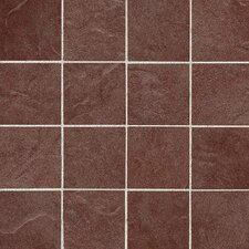 """Shadow Bay 3"""" x 3"""" Colorbody Porcelain Mosaic in Sunset Cove"""
