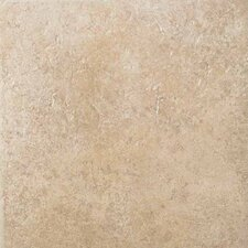 "<strong>American Olean</strong> Vallano 18"" x 18"" Glazed Field Tile in Macadamia"