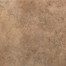 "Vallano 11-13/16"" x 11-13/16"" Glazed Field Tile in Milk Chocolate"