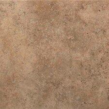 Vallano Glazed Field Tile in Milk Chocolate