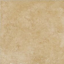 "Treymont 18"" x 18"" Glazed Porcelain Field Tile in Wheat"