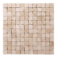 "<strong>StoneSkin</strong> Peel-n-Stick 12"" x 12"" Cracked Mosaic in Beige"