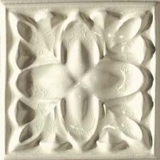 "Cape Cod 6"" x 6"" Dawn Accent Tile in Artisan Cream Crackle"