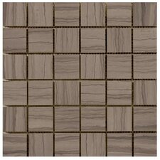 """Metro 12"""" x 12"""" Honed Marble Tile in Taupe"""