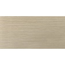 "Strands 24"" x 12"" Porcelain Floor Tile in Olive"
