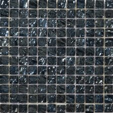 "Vista 12"" x 12"" Glass Mosaic in Celotto"
