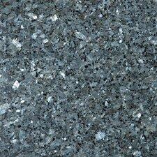 "Natural Stone 12"" x 12"" Granite Tile in Blue Pearl"