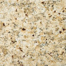 "Natural Stone 12"" x 12"" Granite Tile in Venetian Gold"