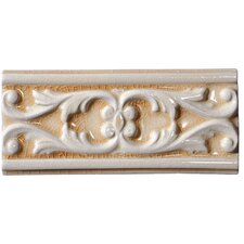 "<strong>Emser Tile</strong> Cape Cod 9"" x 4"" Seashore Accent Tile in Antique Beige Crackle"