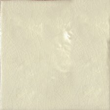 "Cape Cod 6"" x 6"" Double Bullnose Tile Trim in Artisan Cream Crackle"