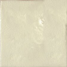 "Cape Cod 6"" x 6"" Surface Bullnose Tile Trim in Artisan Cream Crackle"