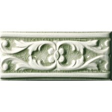 "<strong>Emser Tile</strong> Cape Cod 9"" x 4"" Seashore Stop Accent Tile in Willow Green Crackle"