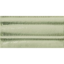 "Cape Cod 9"" x 5"" Crown Base Molding Tile Trim in Willow Green Crackle"