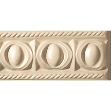 "Cape Cod 9"" x 4"" Park Stop Accent Tile in Natural Matte"