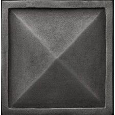 "<strong>Emser Tile</strong> Renaissance 4"" x 4"" Capri Accent Tile in Antique Nickel"