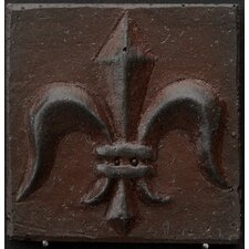 "Renaissance 4"" x 4"" Corsica Accent Tile in Rust Iron"