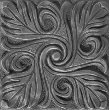 "<strong>Emser Tile</strong> Renaissance 4"" x 4"" Bari Accent Tile in Antique Nickel"