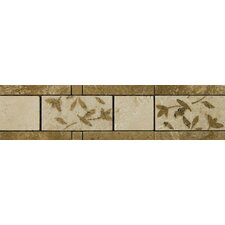 "13"" x 4"" Segovia Travertine Listello"