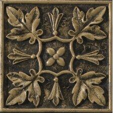 "Camelot 4"" x 4"" Arthur Deco in Bronze"