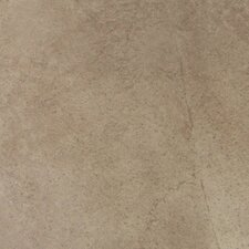 "Napa 18"" x 18"" Glazed Floor Tile in Noce"
