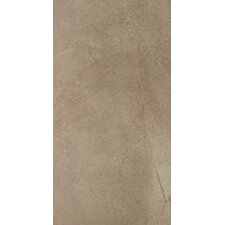 "Napa 24"" x 12"" Matte Porcelain Floor Tile in Noce"
