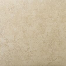 "Odyssey 13"" x 13"" Glazed Ceramic Floor Tile in Beige"