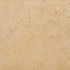 "Odyssey 13"" x 13"" Glazed Ceramic Floor Tile in Oro"